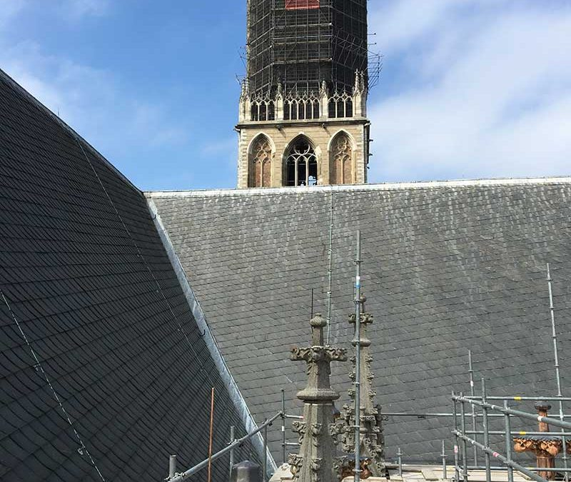 Bliksembeveiliging Domkerk Utrecht
